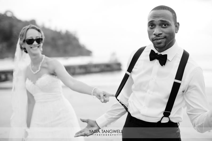 Leah & Dwayne wedding in Trinidad and Tobago