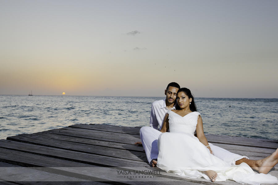 Arfana & Mathew {Pigeon Point Wedding} wedding in Trinidad and Tobago