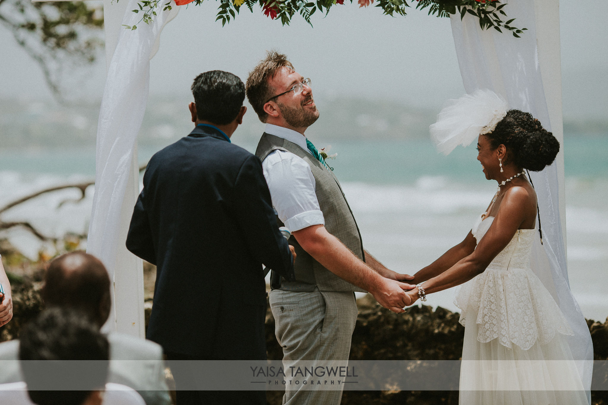 Chaunice + Michael wedding in Trinidad and Tobago
