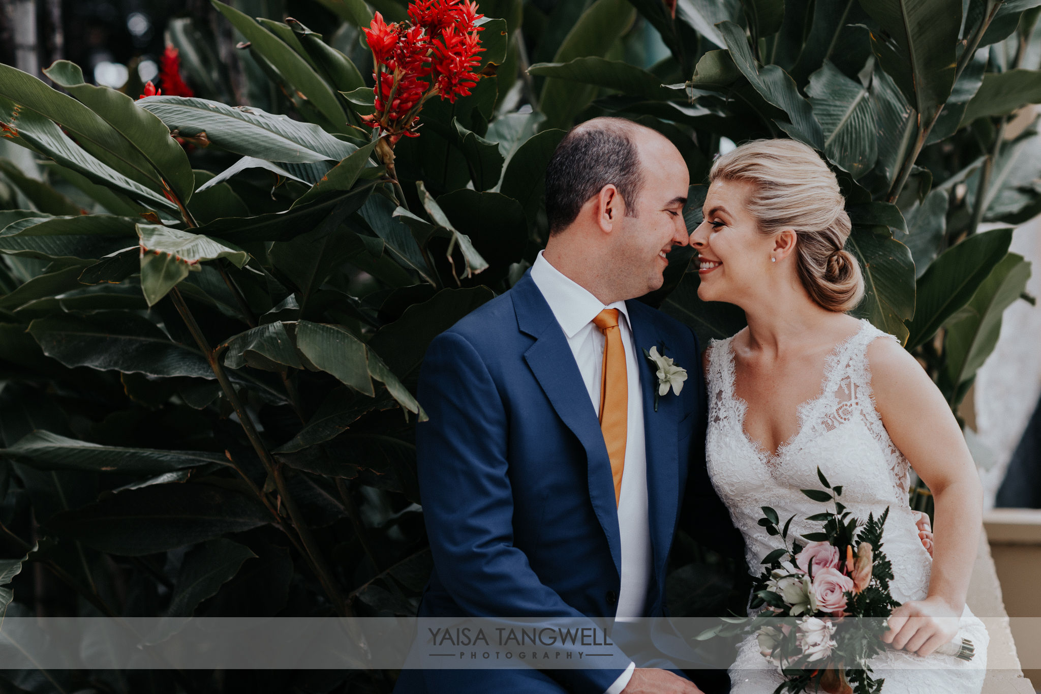 Catherine + Phillip  wedding in Trinidad and Tobago