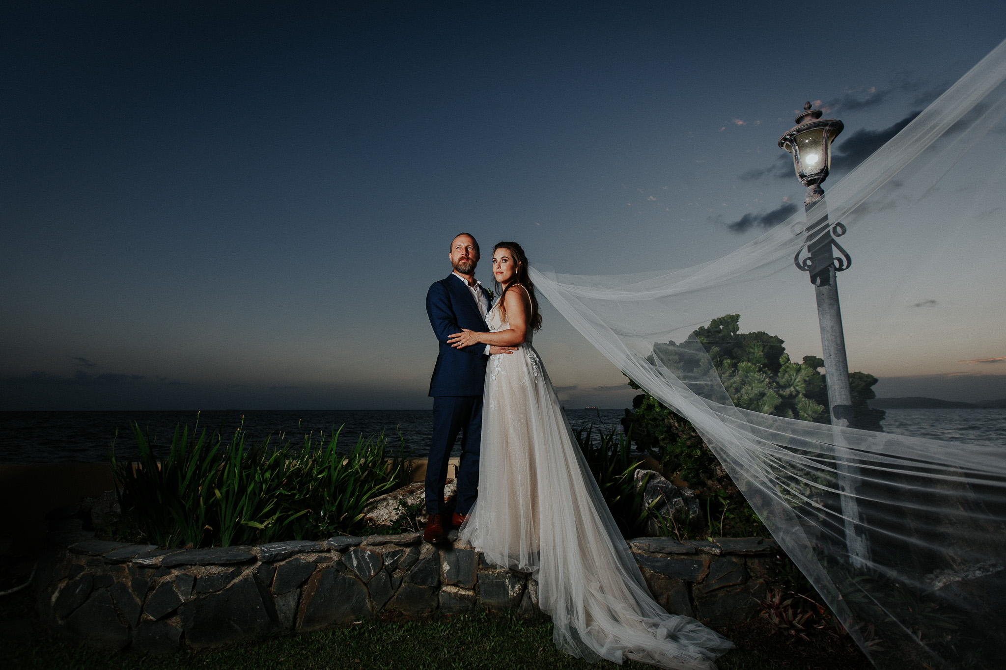 Kristin + Paul wedding in Trinidad and Tobago