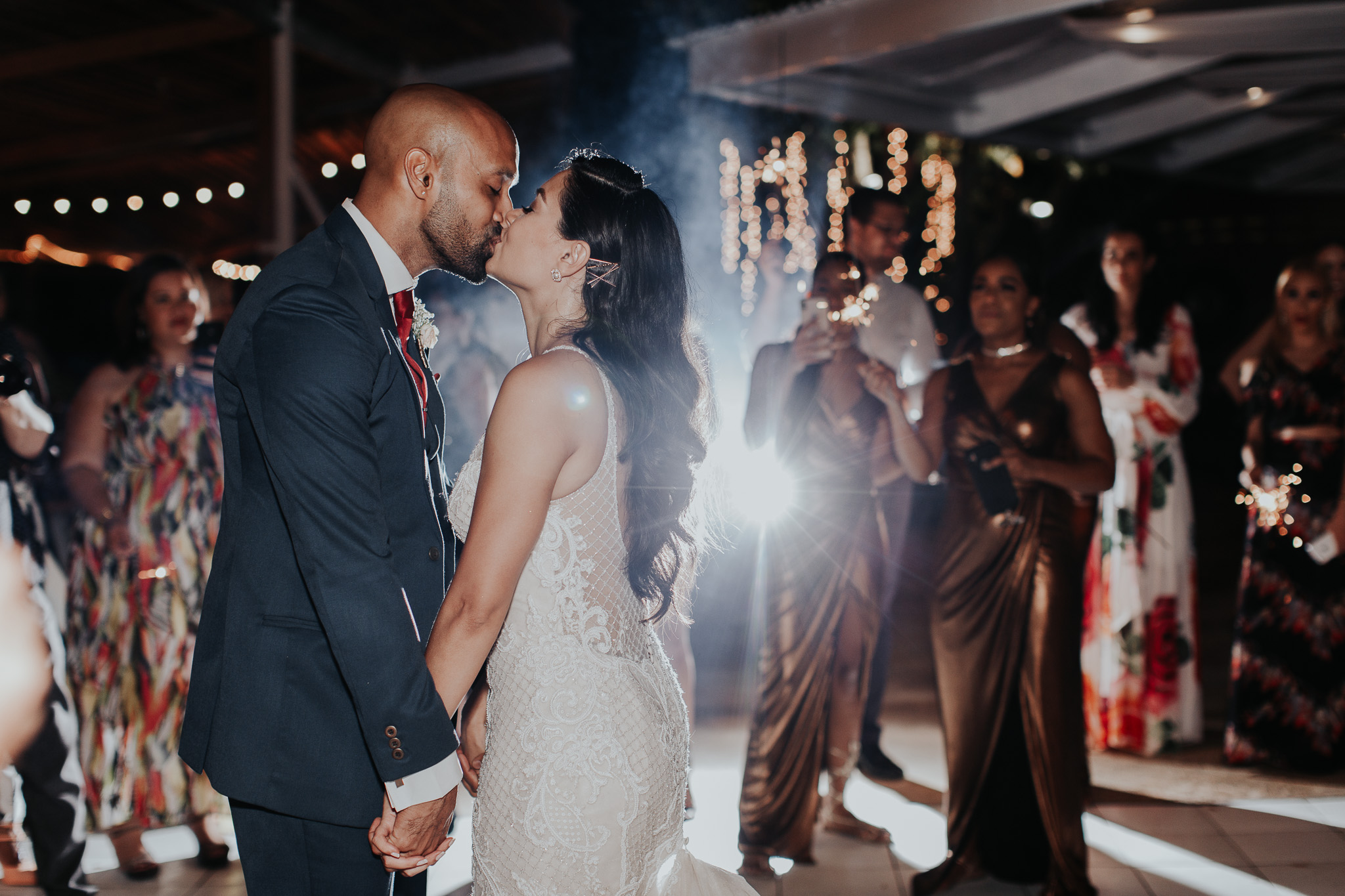 Melissa + Jovon wedding in Trinidad and Tobago