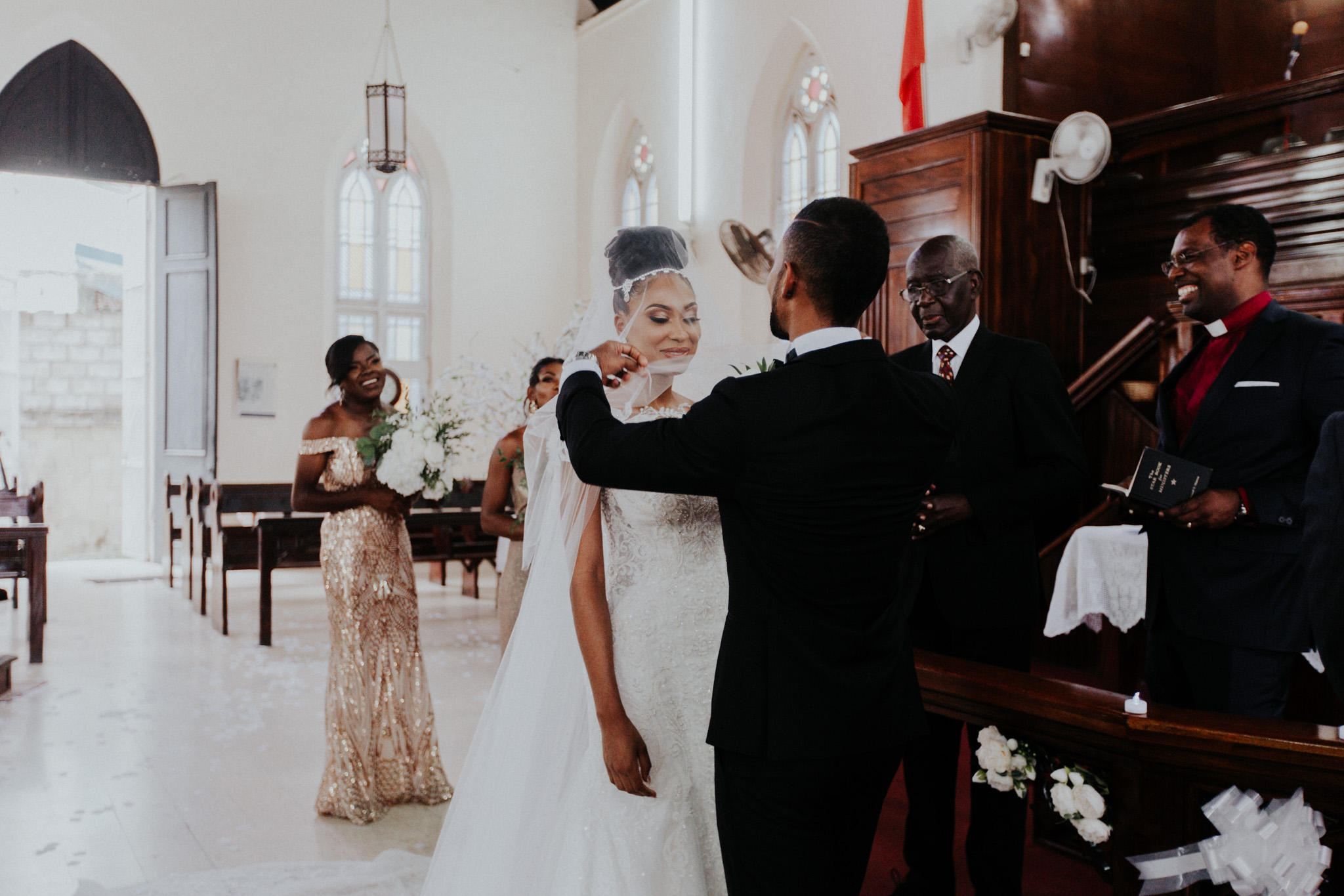 Jemmimah + Shea wedding in Trinidad and Tobago